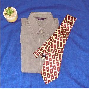 POLO Ralph Lauren Long Sleeve Shirt W/New Tie
